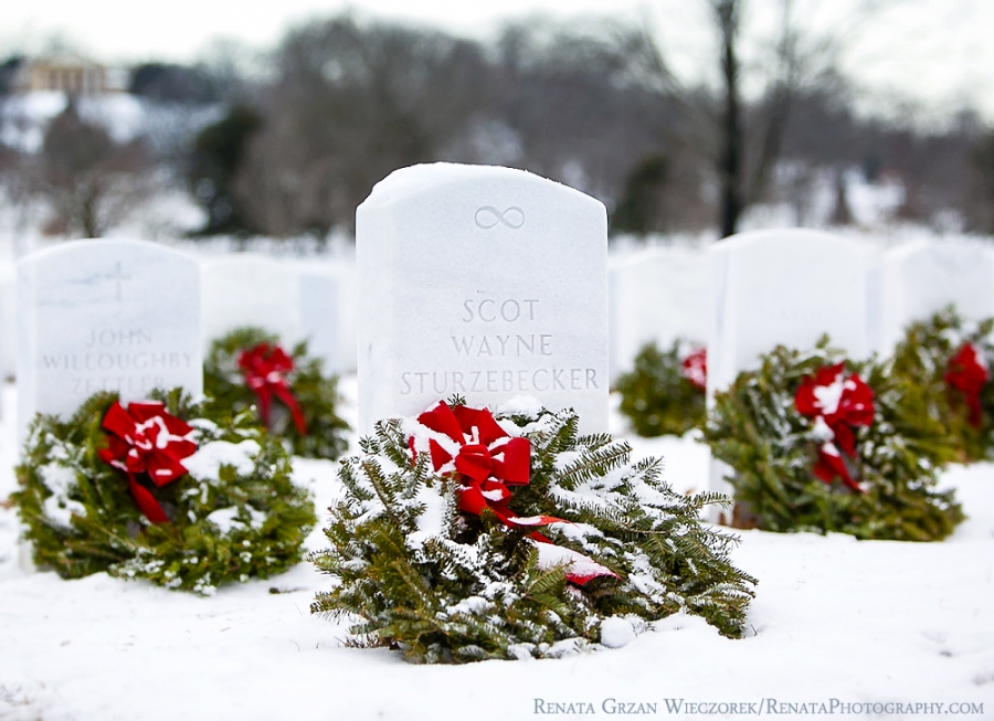 Scot Sturzebecker Headstone at Arlington National Cemetary